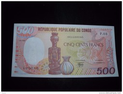 Congo Republic Unc,500,1000,2000 - Andere - Afrika