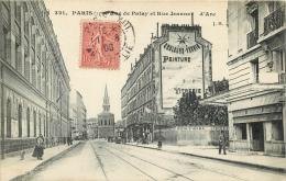 PARIS XIII  RUE DE PATAY ET RUE JEANNE D´ARC - Arrondissement: 13