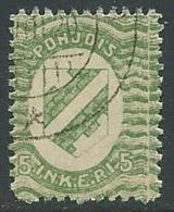 1920 FINLANDIA INGRIA USATO 5 P - VA7-4 - Finland