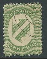1920 FINLANDIA INGRIA USATO 5 P - VA8-3 - Finland