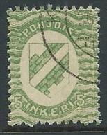 1920 FINLANDIA INGRIA USATO 5 P - VA8-4 - Finland
