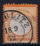 Germany: 1872 Mi Nr 3 Used , Kleiner Brustschild - Deutschland