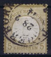 Germany: 1872 Mi Nr 22  Used - Deutschland
