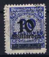 Germany: 1923 Mi Nr 335 B / 335b Used - Germania