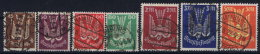 Germany: 1922 Mi Nr 210 - 218 Part Set.used - Luchtpost