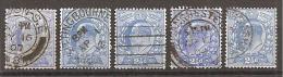 Grossbritannien 1902/1913 - Michel 107 O 5x - Gebraucht