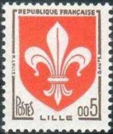 France N° 1230 ** Armoiries - Blason - Lille - Valeur En Nouveaux Francs - France