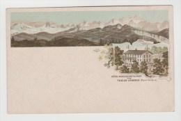 CPA PIONNIERE MONT SALEVE (Haute Savoie) - Hôtel Pension Restaurant Des TREIZE ARBRES - Non Classés