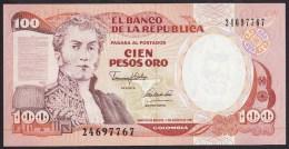 Colombia 100 Pesos Oro 1991 P426A UNC - Colombie