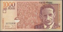 Colombia 1000 Pesos 2010 P456o UNC - Colombie