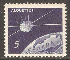 Canada 1966 Mi# 389 ** MNH - Canadian Satellite Alouette II / Space - Space