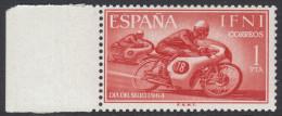 Ifni 1964 Day Of Stamp: Motorcycle Racing. Mi 236 MNH - Motorfietsen
