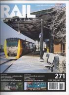 NL.- Tijdschrift - RAIL Magazine. Nummerr 271. Jaargang 32. Januari/februari 2010. Spoorwegen. Modelspoor. - Tijdschriften