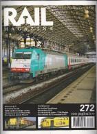 NL.- Tijdschrift - RAIL Magazine. Nummerr 272. Jaargang 32. Maart 2010. Spoorwegen. Modelspoor. - Tijdschriften