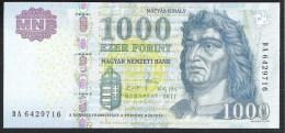 Hungary 1000 Forint 2011 P197b UNC - Hongrie
