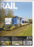 NL.- Tijdschrift - RAIL Magazine. Nummer 273. Jaargang 32. April 2010. Spoorwegen. Modelspoor. - Tijdschriften
