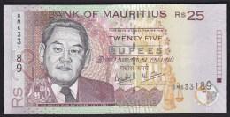 Mauritius 25 Rupees 2006 P49c UNC - Maurice