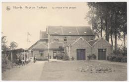 Vilvoorde Vilvorde Réunion Nautique La Pelouse Et Les Garages (JPJ44) - Vilvoorde