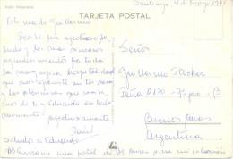INDIA ARAUCANA CHILI CHILE TARJETA VIAJADA VOYAGEE 1971 - Chili