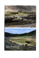 Mur De Bretagne (22) : Lac De Guerlédan - Assec Du Plus Grand Lac De Bretagne En 2015 - France