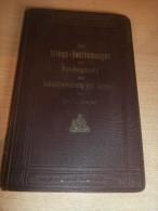 Kriegs-Bestimmungen Zum Bundesgesetz , Dr. Jaerger , Zürich 1914 !!! - 1914-18