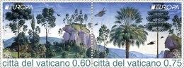 CEPT 2011 Vatican -2 V Setenant  - Paper -MNH** - 2011