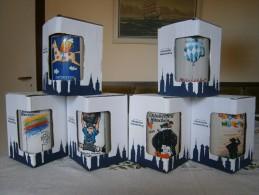 Oktoberfestbierkrüge, 1 Liter, 6 Originale Vom Jahr  1980 /1983 / 1984 / 1985 / 1986 + (1999, Ohne Signatur, Rarität) - Unclassified