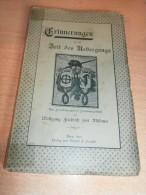 Zeit Des Übergangs , Bern 1898 , Familienpapiere Von W.F. Von Mülinen , 158 Seiten !!! - Raritäten