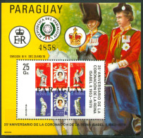 PARAGUAY Mi # Bl 326 Mint NH VF - Paraguay