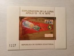 GUINEE EQUATORIALE - Timbre Apollo 13 - 11/04/1970. - Afrika