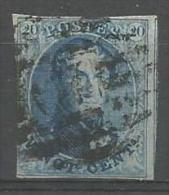 Belgique - Médaillons N°11A(1) Obl. P67 LA ROCHE