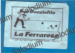 FERRARA - Bar Bocciofile Gioco Delle Bocce - BUSTINA DI ZUCCHERO VUOTA - Sugar Empty - Sugars