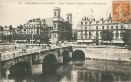 25 - BESANCON-les-BAINS - Pont Battant Et Eglise De La Madeleine - Besancon