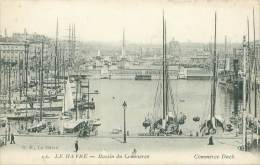 76 - LE HAVRE - Bassin Du Commerce - Porto