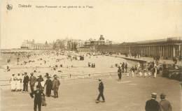 OSTENDE - Galerie-Promenade Et Vue Générale De La Plage - Oostende