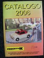 CATALOGO  AUTOMODELLI  PROGETTO K Fiat Alfa Lancia 1/43 - Italia