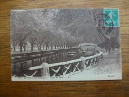 Annecy Sous La Neige Canal Du Vassé - Annecy