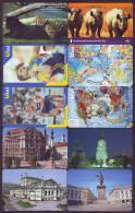 UKRAINE. 80 CHIP PHONECARDS, ALL DIFFERENT. Lot Nr. 5 - Ukraine