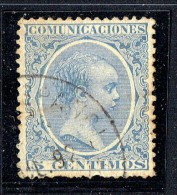 Sello De España Uasado En Marueccos  Alfonso XIII - Marruecos Español