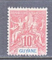 FRENCH GUIANA  38   (o) - French Guiana (1886-1949)