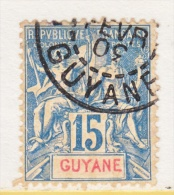 FRENCH GUIANA  39    (o) - French Guiana (1886-1949)