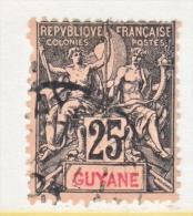FRENCH GUIANA   42     (o)    PERF FAULT - French Guiana (1886-1949)