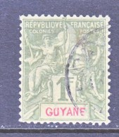 FRENCH GUIANA   49   (o) - French Guiana (1886-1949)
