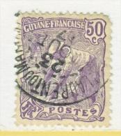 FRENCH GUIANA   71    (o) - French Guiana (1886-1949)