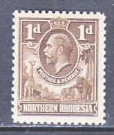 NORTHERN RHODESIA  2    * - Northern Rhodesia (...-1963)
