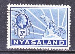 NYASALAND  42   (o) - Nyasaland (1907-1953)