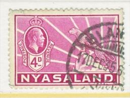 NYASALAND  43   (o) - Nyasaland (1907-1953)