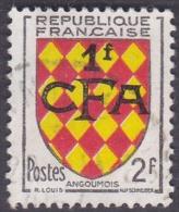 Réunion Obl. N° 309 - Armoiries - Blason - Angoumois - Réunion (1852-1975)