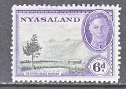 NYASALAND    74     * - Nyasaland (1907-1953)
