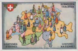 AK - Schweizer Trachten - 1939  Landesausstellung - Schweiz